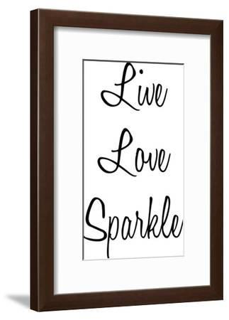 Love Sparkle-Marcus Prime-Framed Art Print