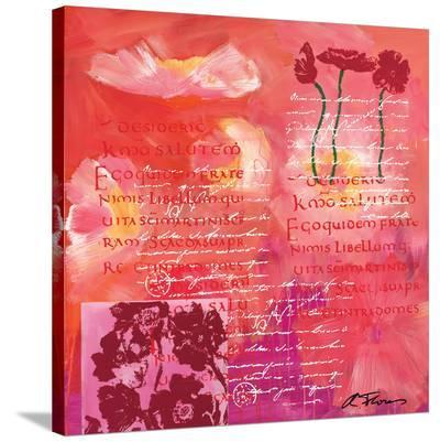 Love Story-Anna Flores-Stretched Canvas Print