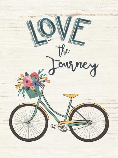 Love the Journey-Jo Moulton-Art Print