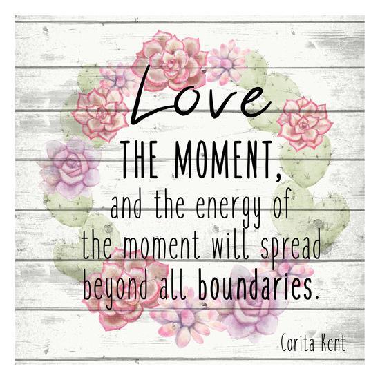 Love the Moment 2-Kimberly Allen-Art Print