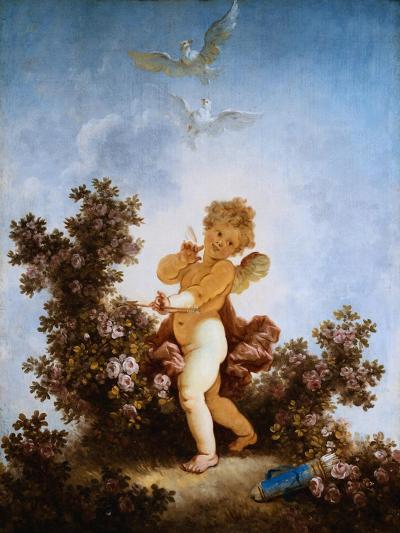 Love the Sentinel-Jean-Honor? Fragonard-Giclee Print