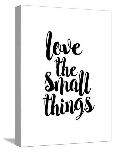 Love the Small Things-Brett Wilson-Stretched Canvas Print