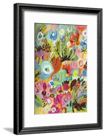 Love to Travel I-Karen  Fields-Framed Art Print