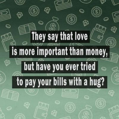 Love Vs Money Art Print By Quote Master Art Com
