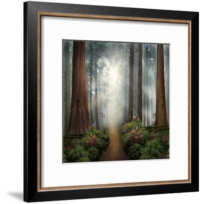 Love Walks with You-David M (Maclean)-Framed Art Print