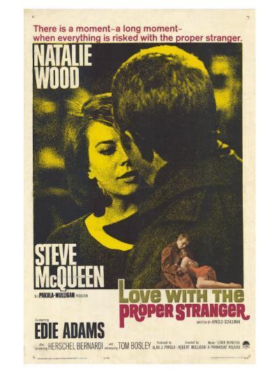 Love With the Proper Stranger, 1964--Art Print