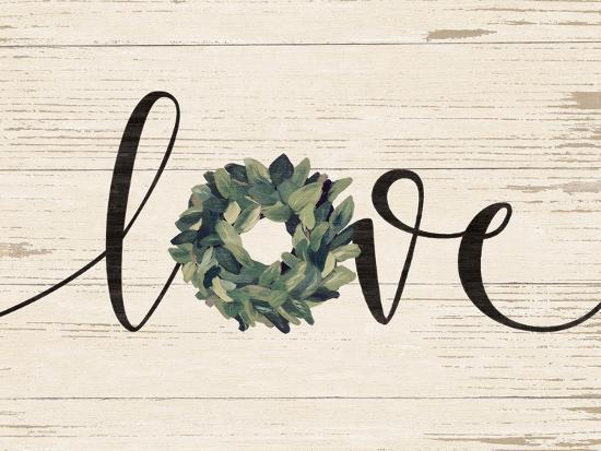 Love Wreath-Jo Moulton-Art Print