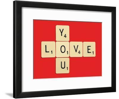 Love You Bodart-Florent Bodart-Framed Art Print