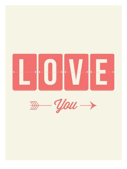 Love You Flip-Brett Wilson-Art Print