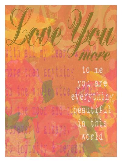 Love You More-Lisa Weedn-Giclee Print