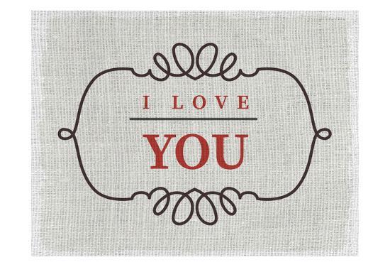 Love You-Kimberly Allen-Art Print