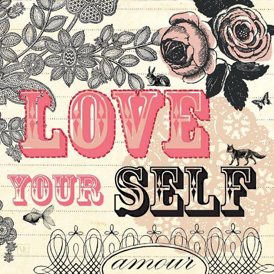 Love Yourself-Violet Leclaire-Art Print