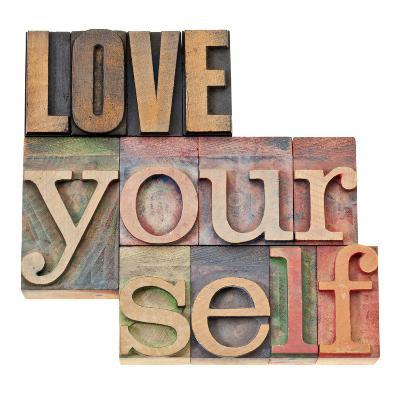 Love Yourself-PixelsAway-Art Print