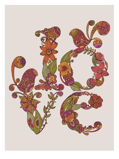 Love-Valentina Ramos-Art Print