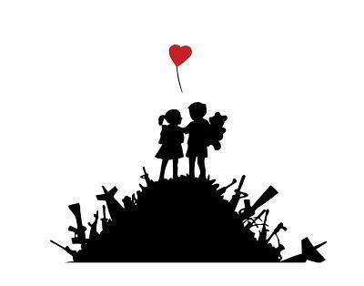 Love-Banksy-Art Print