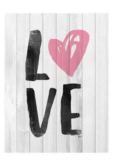 LOVE-Gigi Louise-Art Print
