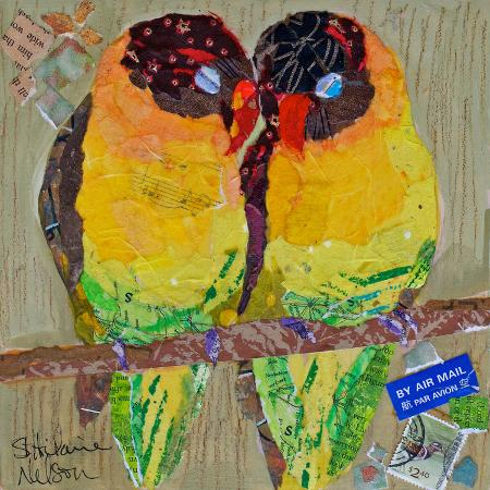 lovebirds-yelllow