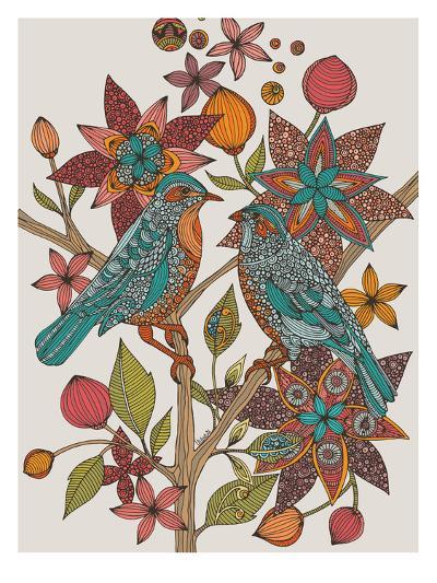 Lovebirds-Valentina Ramos-Art Print