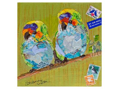 Lovebirds--Art Print