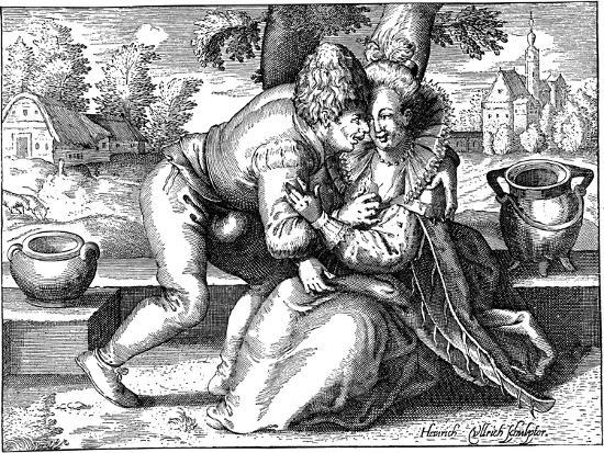 Lovelorn Peasant-Heinrich Ullrich-Giclee Print