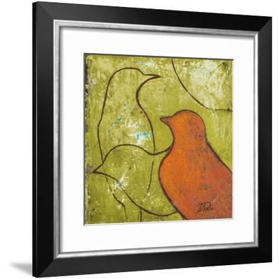 Lovely Birds VI-Patricia Pinto-Framed Art Print