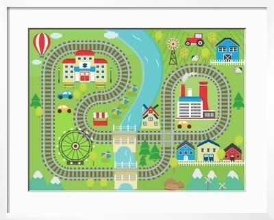 decorative play mat.htm lovely city landscape train track play mat for children activity  city landscape train track play mat