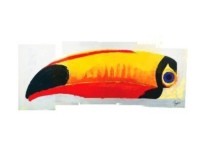 Lovely Day Toucan--Art Print