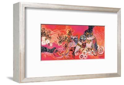 Lovely Family-Lucy Cloud-Framed Art Print