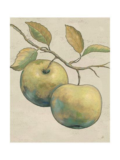 Lovely Fruits II Neutral Plain-Daphne Brissonnet-Art Print