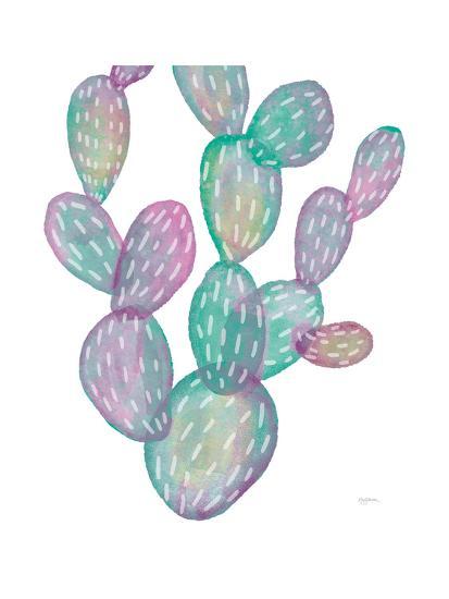 Lovely Llamas Cactus-Mary Urban-Art Print