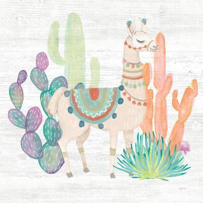 Lovely Llamas II-Mary Urban-Art Print