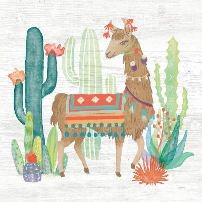 Lovely Llamas III-Mary Urban-Art Print
