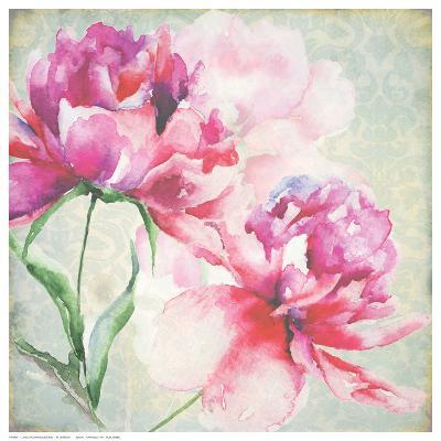 Lovely Peony Blossoms-R^ Jersova-Art Print