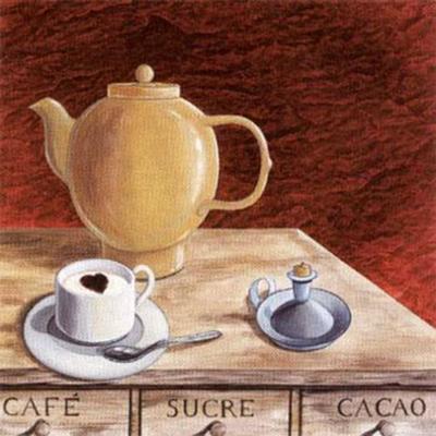 Lover Cappuccino-J^l^ Vittel-Art Print