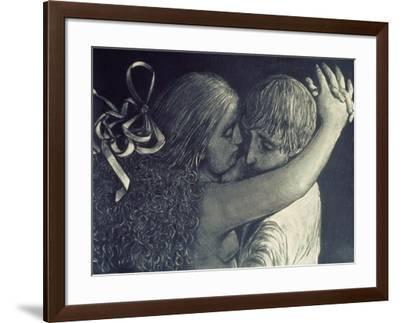 Lovers, 1976-Evelyn Williams-Framed Giclee Print