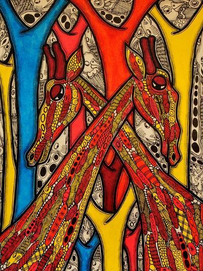 Lovers, 2013-Muktair Oladoja-Giclee Print