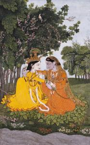 Lovers in a Forest, circa 1800