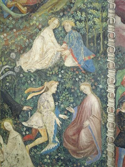 Lovers in a Garden in May-Maestro Venceslao-Giclee Print