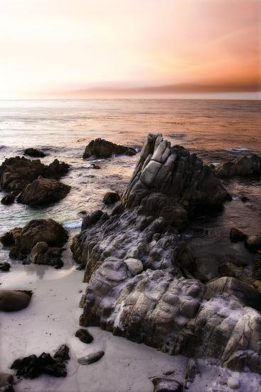 Lovers Point Sunset 4-Alan Hausenflock-Photographic Print