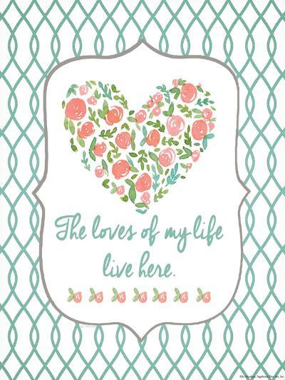 Loves of My Life-Jo Moulton-Art Print