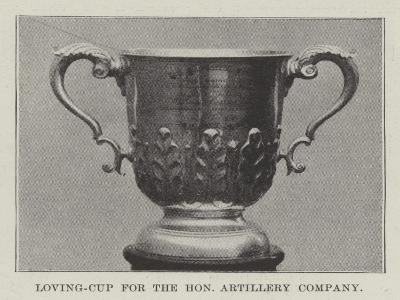 Loving-Cup for the Honourable Artillery Company--Giclee Print