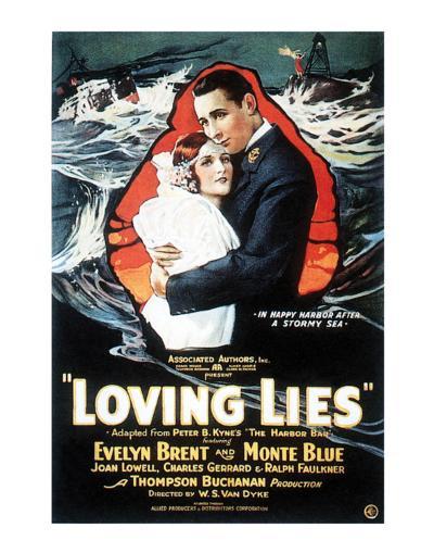 Loving Lies - 1924--Giclee Print