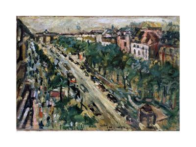 Berlin, Unter Den Linden, 1922