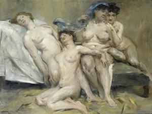 Group of Women, 1904 by Lovis Corinth