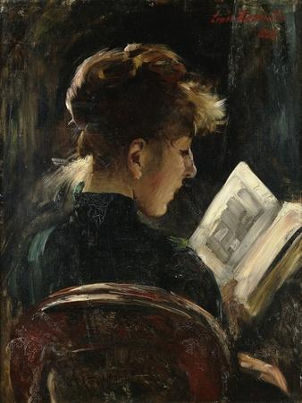 Woman Reading; Lesendes Madchen, 1888