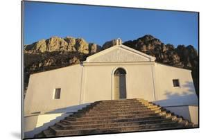 Low Angle View of a Building, Lula, Mt Albo, Sardinia, Italy