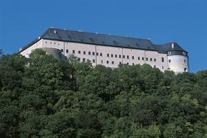Low Angle View of a Castle, Cerveny Kamen Castle, Slovakia