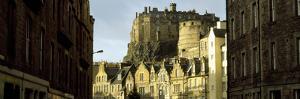 Low Angle View of a Castle, Edinburgh Castle, Edinburgh, Scotland