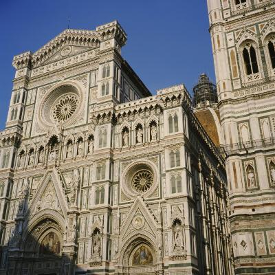 Low Angle View of a Cathedral, Duomo Santa Maria Del Fiore, Florence, Italy--Photographic Print