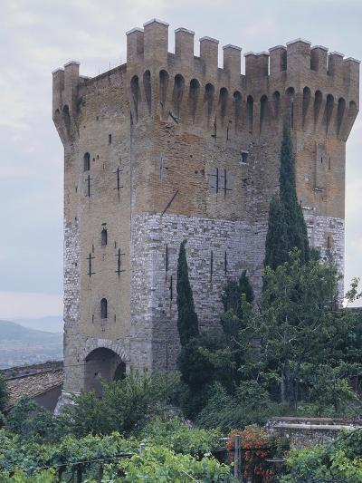Low Angle View of a Fort, St. Angelo, Perugia, Umbria, Italy--Photographic Print